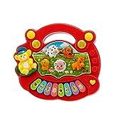 Baby Kinder Kleinkind musikalische Bildung Tierfarm Klaviertastatur elektronische Musik Entwicklung Kinder Spielzeug