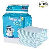30pz bambino pannolino fasciatoio imbottito impermeabile traspirante monouso Underpad Portable materasso antigoccia per incontinenza, per adulti, bambini, o Pets by Pueri