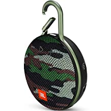 JBL Clip 3 Mono portable speaker 3.3W Camouflage - Portable Speakers (1.0 channels, 4 cm, 3.3 W, 120-20000 Hz, 80 dB, Wired & Wireless) - Squad