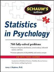 Schaum's Outline of Statistics in Psychology (Schaum's Outline Series)