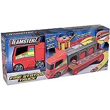 Teamsterz Camion Trasporto 4 piani con Lanciatore e 5 auto Zauberartikel & -tricks