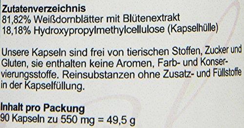 Hanoju Weißdorn Extrakt 450 mg (90 Kapseln)