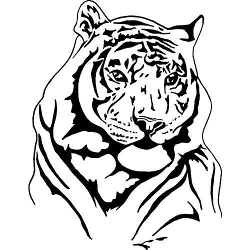 Azeeda A7 'Tigre' Timbro di Gomma Non Montato (RS00001649)