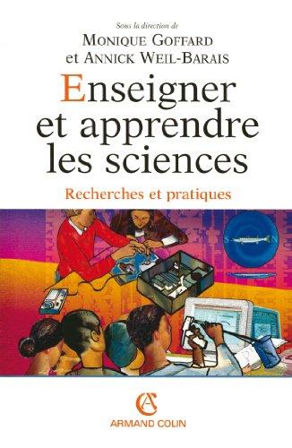 Téléchargement Enseigner et apprendre les sciences : Recherches et pratiques (Hors collection) pdf, epub