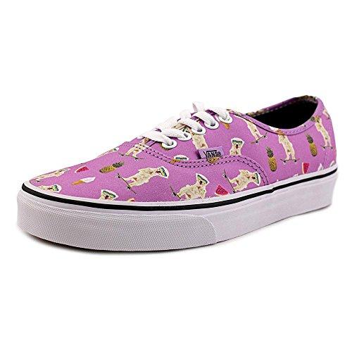 Vans U Classic Slip-on, Baskets mode mixte adulte weiß, violett (weiß, violett (Pool Vibes) African Violet/True White)