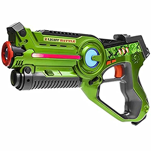Laser tag Light Battle Active toy gun for kids - Color: green - Lazertagbattle shooting game -