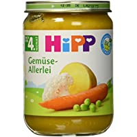 HiPP Gemüse-Allerlei Bio, 6er Pack (6 x 190 g)