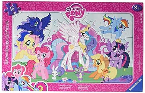 Ravensburger Puzzle 06129 - My little Pony, Freundschaft ist Magie, 15 Teile