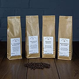 Redber Intro Pack – 4 x 250 g of Coffee Roasted to Order (Beans)