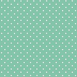 d-c-fix 346-0648 - Lámina adhesiva (vinilo, 45 cm x 2 m, grande, diseño de lunares), color verde