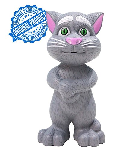 Intelligent Talking Tom Cat By Sceva With Touch Recording Story Rhymes & Songs,Intelligent Touching Tom Cat with wonderful voice.