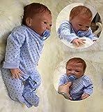 HOOMAI lebensecht 20 Zoll 50 cm Puppe Reborn Babys Junge Silikon Vinyl Wie Echt Baby Doll Boy...