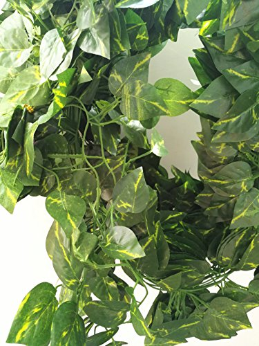 �Füße) Künstliche Vines Fake Vines für Dekoration für Hochzeit Party Outdoor décorartificial Vines Bulk Fake Vines Dekoration für Hochzeit Party Outdoor Décor (Bulk-dekorationen)