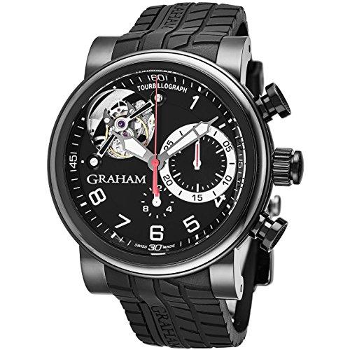 Graham Tourbillograph Reloj de hombre automático 47mm 2TWTB.B03A.K47D