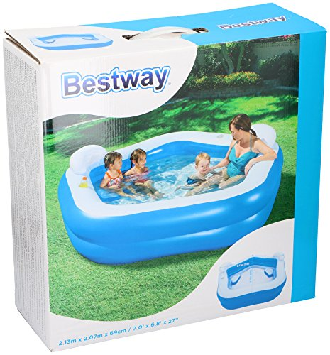 Bestway Family Pool Fun 213 x 206 x 69 cm
