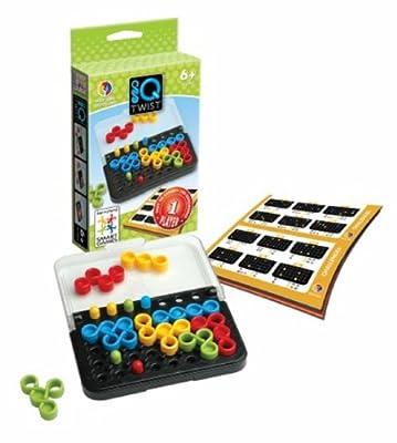 Smart Games - SG 488 - Jeu de Société - IQ - Twist - 100 Défis