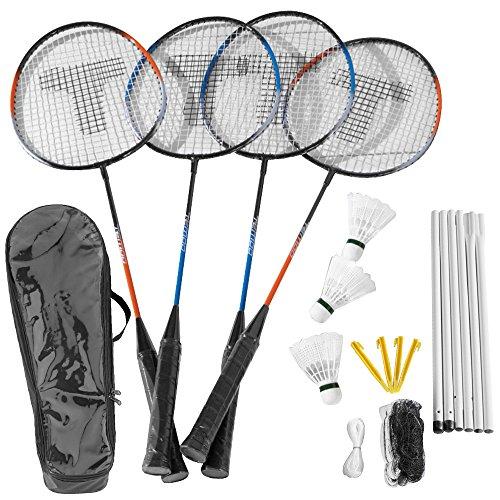 Weitere Ballsportarten 4 Stück Federbälle Fun Hudora 76047 Badminton Sport Freizeit Park Strand Ball
