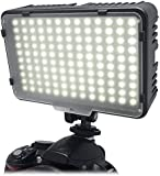 Mcoplus®130 LED Dimmable Ultra High Power Panel Digital Camera / Camcorder Video Light, LED Light for Canon, Nikon, Pentax, Panasonic,Sony, Samsung and Olympus Digital SLR Cameras (LED-130)