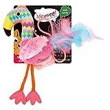 Meowee Dangley Flamingo Cat Toy