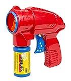 Idena 40020Pistola de pompas de jabón Rojo, Incluye Solución de pompas de jabón 53ML