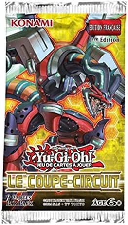 10 BOOSTERS DE 9 9 9 CARTES SUPPLEMENTAIRES YU GI OH LE COUPE CIRCUIT 00b01a