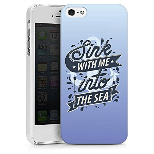 Apple iPhone X Silikon Hülle Case Schutzhülle Meer Urlaub Romantik Hard Case weiß
