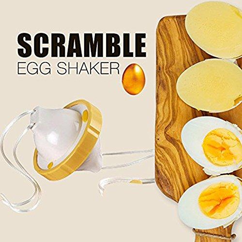 Golden Ei Maker, Creative Eigelb Weiß Mixer Hand Powered Golden Egg Shaker Ei Scrambler Schlägel SCRAMBLES Eier, ohne das Shell von - Und-geräte Küchen-gadgets