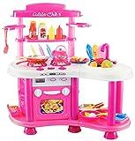 Dominiti Spielküche XXL Little Chef mit viel Zubehör / Sound & Licht