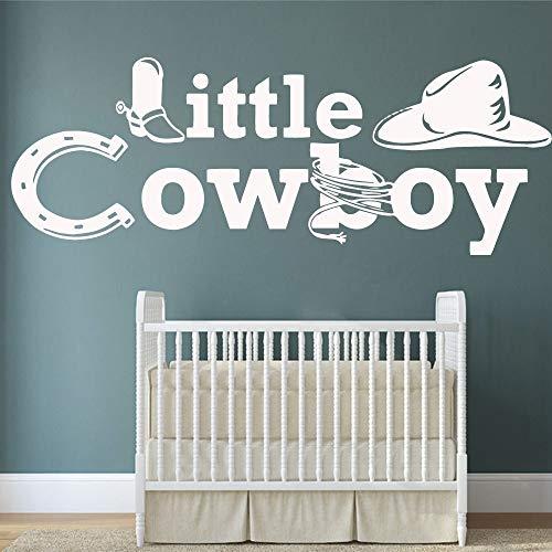 haotong11 Cowboy Wandkunst Aufkleber Dekoration Mode Aufkleber für Wohnzimmer Unternehmen Schule Büro Dekoration Zubehör 57 * 155 cm