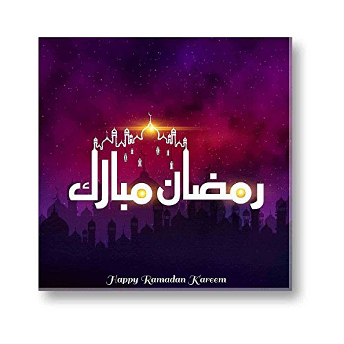 Eid gifts, Happy Ramadan Kareem Eid Mubarak Islamic Canvas Painting Wall Decor...