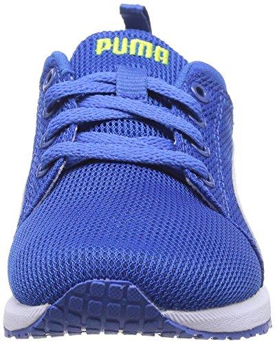 Puma Carson Runner Jr Blau und weiß