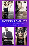 Modern Romance Collection: May 2018 Books 5-8: Desert Prince's Stolen Bride/Hired to ...