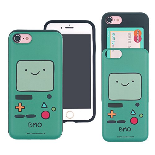 iPhone 6s/iPhone 6 custodia Adventure Time cute Slim Slider cover: slot assorbimento urti antiurto Dual Layer protettiva Holder Heavy Duty bumper per [iPhone 6/iPhone 6s] case – Adventure Time Princes Beemo (iPhone 6S / 6)