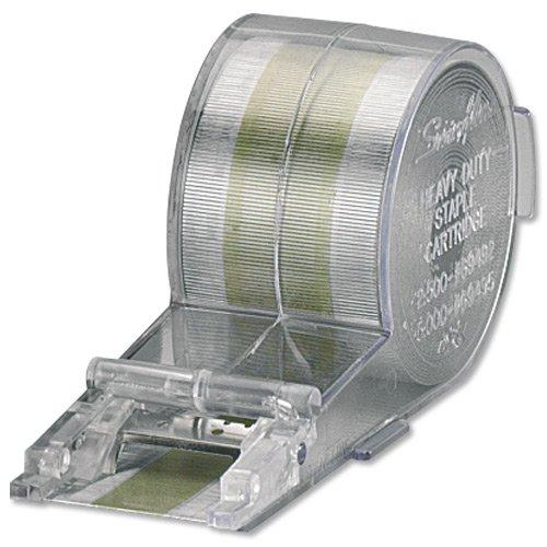 Rexel 06311 Cartuccia No 270 Metallici per Cucitrice per Grandi Volumi Stella 70, 5000 Pezzi, Argento