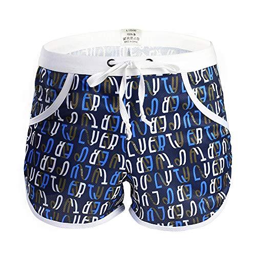 MAYOGO Herren Badehose mit Elegant Print,Sportshorts für Männer Drucke Beachwear Unterwäsche Surf Boardshorts Unterwäsche mit Tasche