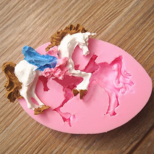 aliciashouse-carousel-unicorn-cavallo-fondente-stampo-stampo-in-silicone-cake-decorating-tool