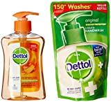 #10: Dettol Reenergize Liquid Hand Wash - 200 ml with Liquid Soap Refill - 185 ml (Any Variant)