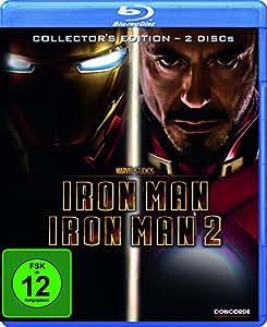 Iron Man 1+2 [Blu-ray] [Collector's Edition]