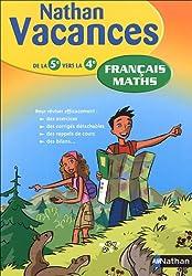 Français Maths : De la 5e vers la 4e
