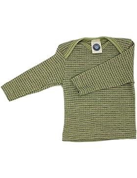 Cosilana Baby Schlupfhemd by Wollbody® Spezial Qualität 45% kbA Baumwolle, 35% kbT Wolle, 20% Seide