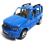 #1: Scorpio Car Toy for Kids/Show Piece | Die Cast Vehicle Toy | Miniature/Model Car | Pull Back and Go | Openable Doors (Blue)