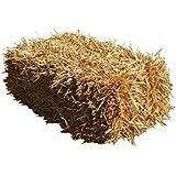 Weizenstroh 12kg Dekostroh Herbstdekoration Stroh Strohballen Einstreu Kaninchen