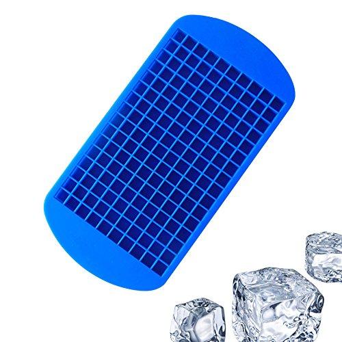 ormen Tabletts Silikon 160Raster Kleines Ice Tablett schokolade Mould Werkzeug für Küche Bar Party Getränke (Stick Mann Kostüm Für Halloween)