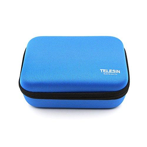 Preisvergleich Produktbild TELESIN stoßfest Schlagfeste Schutzhülle Travel Carry Tasche für GoPro HD hero4, 3+, HD3, 2, 1Kamera & GoPro Zubehör, klein