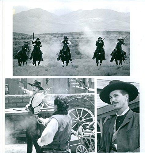 Vintage photo de Kurt Russell y Val Kilmer en la película