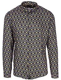 Uomo it Camicia Amazon Abbigliamento viscosa v08qStwtU