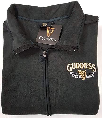 597907dcbad Guinness Official Merchandise - Chaqueta - para Hombre Gris Gris XXX-Large