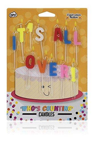NPW Geburtstag Kuchen Kerzen-Nicht, Kuchen Dekoration Celebration Nation (Kuchen-kerzen Auf Lust)