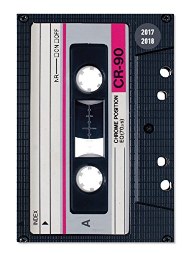Preisvergleich Produktbild Collegetimer Tape 2017/2018 - Schülerkalender A5 - Day By Day - 352 Seiten