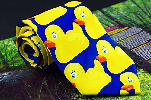 Ducky corbata, cómo conocí a tu madre actor ducky empate corbata seda corbara